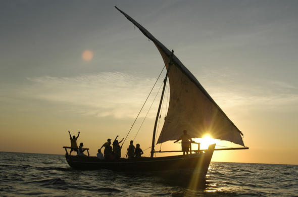 Sunset dhow cruises along the East African coast.