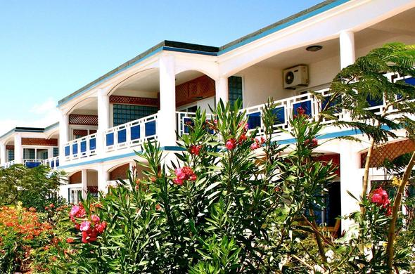 Hotel La Note Bleue in Madagascar.