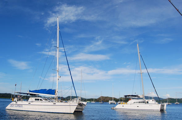 Take a yacht charter for the day. Madagascar