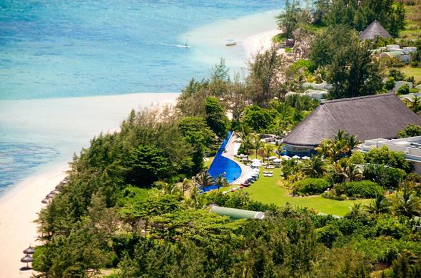 So Sofitel Mauritius is located on the coast of Mauritius.