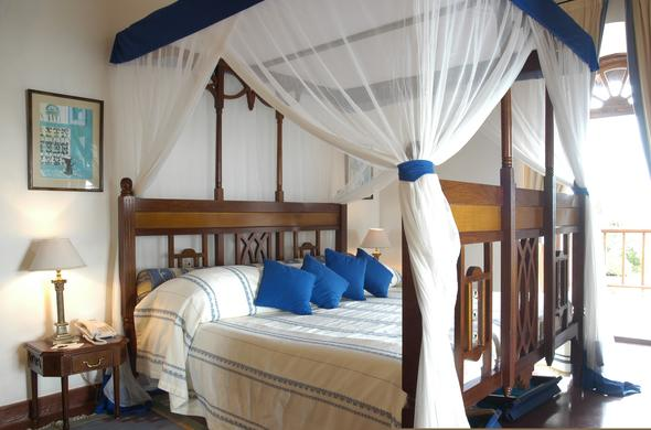 Comfortable island accommodation in Zanzibar.